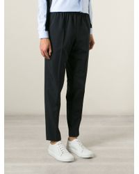Carven Elasticated Waistband Trousers - Lyst