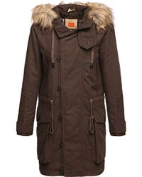 BOSS Orange - Cotton Parka 'omalia-w' - Lyst
