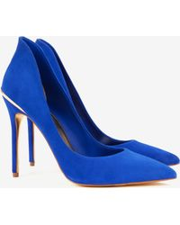 Ted Baker High Back Court Shoes - Lyst
