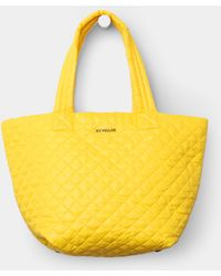 MZ Wallace Medium Metro Tote Bright Yellow Oxford - Lyst