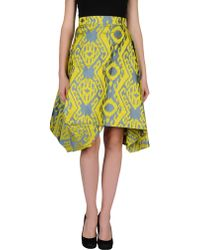 Vivienne Westwood Anglomania Knee Length Skirt - Lyst