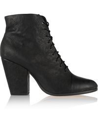 Rag & Bone Miles Lace-up Leather Boots - Lyst