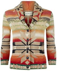 Denim & Supply Ralph Lauren - Navajo Print Shawl Cardigan - Lyst