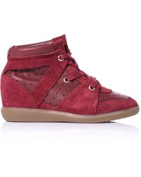 Isabel Marant Betty Hidden Wedge Trainers - Lyst