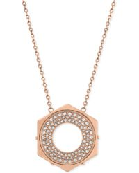 Swarovski Bolt Crystal Pendant Necklace - Lyst