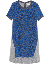 Sea Leopard and Jersey Dress - Lyst