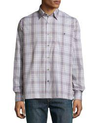Ike Behar - Check Sport Shirt - Lyst