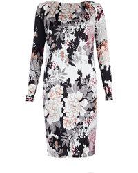 Day Birger Et Mikkelsen Flower Silk Floral Dress - Lyst
