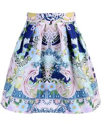 Mary Katrantzou Knee Length Skirt - Lyst