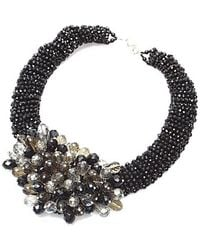 Nakamol - Star Cluster Necklace-black Mix - Lyst