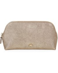 Mulberry Metallic Goat Make-Up Case - Lyst