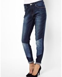 2nd Day | Friola Patched Boyfriend Jeans | Lyst