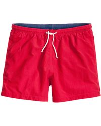 H&M Solid Colour Swim Shorts - Lyst