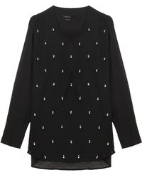 Isabel Marant Golin Sequin Sweater - Lyst