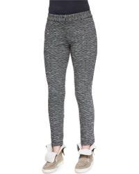 Thakoon Addition Stretch-knit Slim-leg Trousers