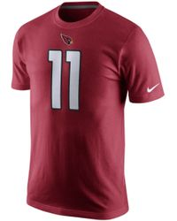 Nike Mens Larry Fitzgerald Arizona Cardinals Pride Player Tshirt - Lyst