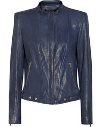 Theyskens' Theory Janner Leather Jacket - Lyst