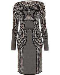 Temperley London Lavinia Lace Fitted Dress - Lyst