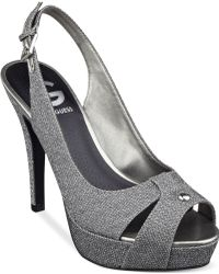 G by Guess Women'S Cathy Slingback Platform Pumps - Lyst