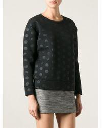 Sonia By Sonia Rykiel Polka Dot Sweatshirt - Lyst