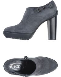 Tod's Shoe Boots - Lyst