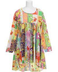 Jeremy Scott Dress multicolor - Lyst