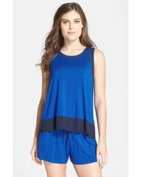 DKNY Tank Top & Shorts Pajama Set - Lyst