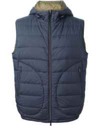 Herno Reversible Padded Hooded Gilet - Lyst