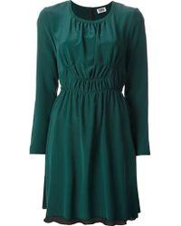 Sonia By Sonia Rykiel Gathered Dress - Lyst