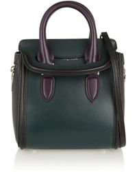 Alexander McQueen The Heroine Small Leather Shoulder Bag - Lyst
