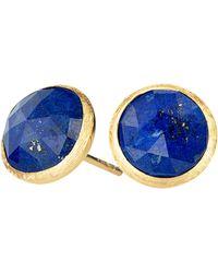 Marco Bicego Jaipur Lapis Stud Earrings - Lyst