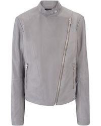 Joseph | Nappa Leather New Alpha Jacket | Lyst