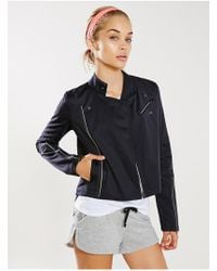 Without Walls - Technical Biker Jacket - Lyst