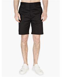 Acne Studios Men'S Black 'Adrian' Shorts - Lyst