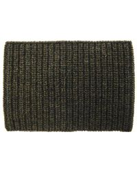 Cerruti 1881 - Ribbed-Knit Wool-Blend Snood - Lyst
