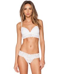 Cosabella Never Say Never Softie Soft Padded Bra - Lyst