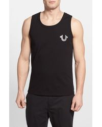 True Religion 'Crafted With Pride' Graphic Tank Top - Lyst