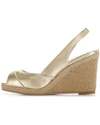 Carvela Slingback Wedge Sandals - Lyst