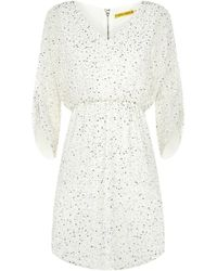 Alice + Olivia Olympia Embellished Tunic Dress - Lyst