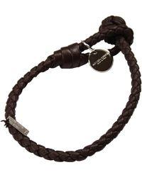 Bottega Veneta Bijoux Bracelet 1 Filo Braided Nodo - Lyst