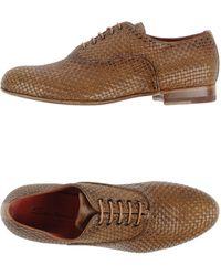 Santoni Lace-Up Shoes - Lyst