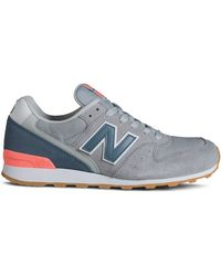 New Balance Lace Up Sneaker - Women'S Classic 696 - Lyst