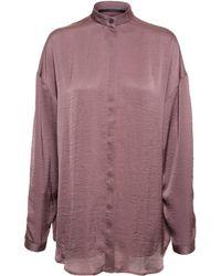 Haider Ackermann Oversized Shirt - Lyst
