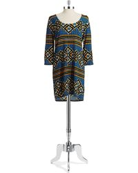 Plenty By Tracy Reese Blue Lisette Dress - Lyst