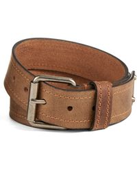 Calvin Klein Leather Belt - Lyst