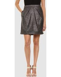 Rue du Mail - Knee Length Skirt - Lyst