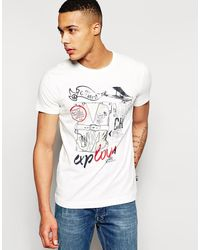 Love Moschino Printed T-shirt - Lyst