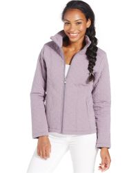 The North Face Danella Quilted Jacket purple - Lyst