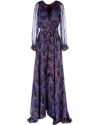 Zac Posen Long Dress - Lyst