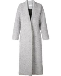 Strateas Carlucci - Oversized Shaggy Coat - Lyst